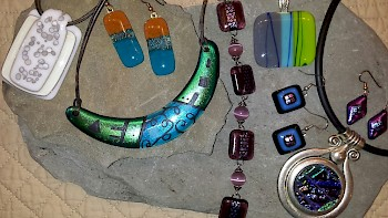 Sampler Series: Fused Glass Jewelry image