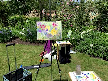 Outdoor Painting with Rachel White image