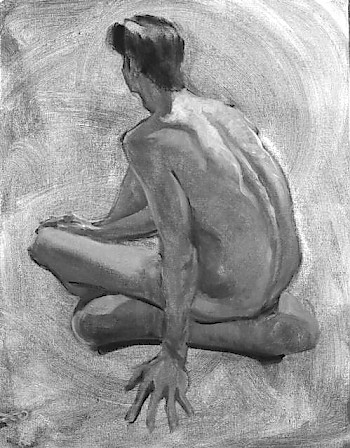 Figure Studies in Grisaille image