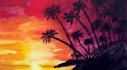 Sunset - Julie Park (acrylic)