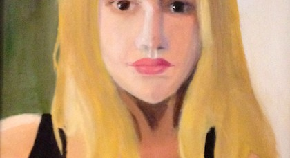 Jo Harvelle - Molly Dignam (oil on canvas)