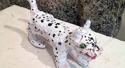 Snow Leopard - Charlotte Powers (clay)