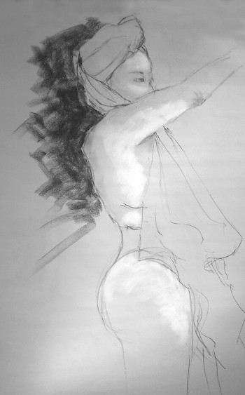 Open Life Drawing image