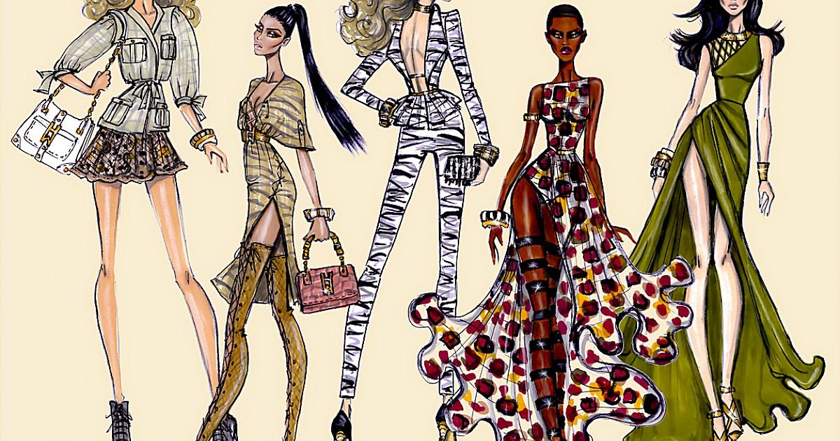 British Fashion Illustrator Designer Hayden Williams Katonah Art Center