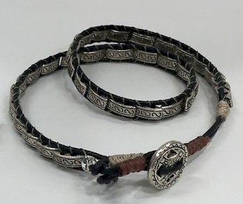 Leather Wrap Bracelet image