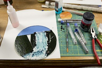 Fused Glass and Fromage image